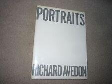 Portraits Richard Avedon Signed Hardcover