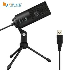 Fifine Metal USB Condenser Recording Microphone For Laptop