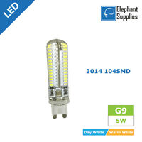 10 x G9 LED 5W 104SMD Light Bulbs Capsule Long Life Lamps Energy Saving 220V