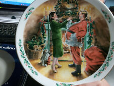 Royal Doulton : Christmas Plate : Dad Plays Santa : 1991 : Boxed