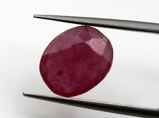 2.58 Ct Natural Ruby Loose Deep Red Color Gemstone Thailand Heated Gem