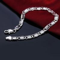 women men charms 925 Sterling silver Fashion cute nice noble Bracelet Jewelry