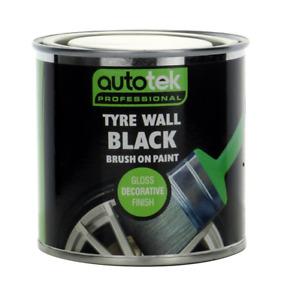 AUTOTEK TYRE WALL BLACK 250ml TYRE PAINT