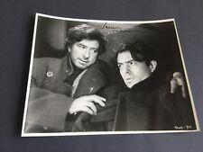 James Mason † 1984 signed rarezas foto 19 x 24 autógrafo golden globe ganador
