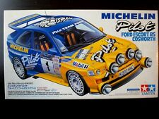 Nostalgic & Rare ! TAMIYA 1/24 MICHELIN Pilot FORD Escort RS Cosworth Valuable !