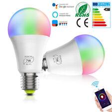 RGB Ampoule Intelligente Wifi LED Smart Bulb Compatible Avec Alexa Google Home