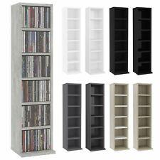 VidaXL CD Regal Spanplatte Ständer Standregal Medienregal mehrere Auswahl