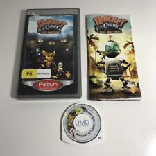 RATCHET & CLANK SIZE MATTERS  Sony PSP Playstation Portable Game CompLETE