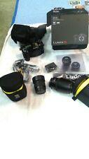 NEW Panasonic Lumix DC-G9 Mirrorless Camera Body With 35-100 mm and 25mm lenses