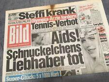 Bildzeitung BILD 15.03.1988 * Das besondere Geschenk zum 30. 31. 32. Geburtstag