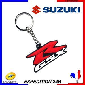 Porte Clé Moto pour Suzuki GSXR 600 750 1000 1300 Hayabusa NEUF - France