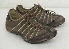 Tsubo Japan Brown Leather Fashion Sneakers US Women's 7.5 EU 37.5 Fast Shipping