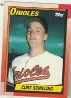 FREE SHIPPING-MINT-1990 Topps #97 Curt Schilling Orioles PLUS BONUS CARDS