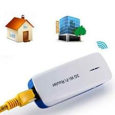 Mini Portable 150M 5in1 3G WIFI Mobile Wireless Router With Hot Power Bank BU RN