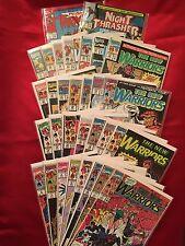 The New Warriors Marvel Comic book Lot of 31 Comic Books