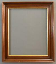 "Large, Deep, Walnut Frame with Gold Liner, c.1860-70, 30"" X 26"", Excellent..."