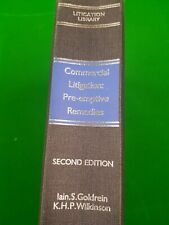 Commercial Litigation Pre- emptive Remedies Sweet and Maxwell Lot24