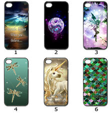 For Phone Hard Case Cover Mystical Artistic Dragonfly Unicorn Collection 20