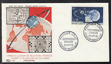 A-21) Beautiful document 1962 France SPACE Cover Special Postmark (5)