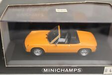 Minichamps 914 TARGA 1969-1973 ORANGE LIMITED EDITION 1:43 NUOVO