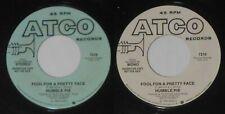 """Humble Pie - Fool For a Pretty Face  mono/stereo  1980 U.S. promo 7"""" vinyl"""