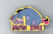 Disney Auctions Winnie the Pooh Eeyore Face in Flowers Easter Le 100 Pin