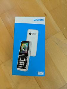 Alcatel 1066 Mobile Phone Brand New Boxed BNIB Simple Numeric Keypad