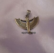 Egyptian made SILVER - 3.9 grams - WINGED ISIS  - Pharaonic - NEW - #2835