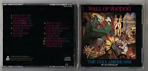 Cd WALL OF VOODOO The ugly americans in Australia - 1988 prima edizione Rock