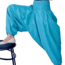 Ali Baba Harem Pants Indian Plain Solid Hippie Baggy Cotton Girls Yoga Trouser