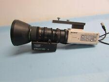 Sony DXC-390 camera with Fujinon T16x5.5DA-D58 Lens 1/3 C-mount ExWaveHAD (B5B)