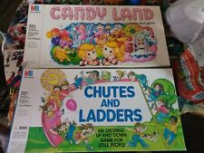 1984 Candy Land Board Game Milton Bradley COMPLETE chutes and ladders incomplete