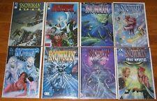 AVATAR comics SNOWMAN lot #1-3 full set + 1944 Dead and Dying Specials Variant 0
