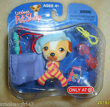 Littlest Pet Shop Target Exclusive Retired Jack Russell Terrier Dog Puppy Nip