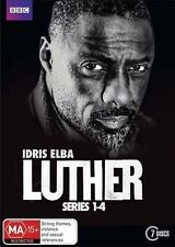 LUTHER: The Complete Series 1-4 (R4 7-Disc DVD Set) | BBC