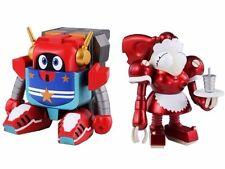 Super Robot Chogokin Mic & Piggy & Big Order Room Action Figure Bandai Japan