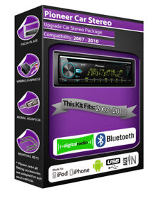 Ford Focus Radio DAB , Pioneer Coche Estéreo CD USB Aux IN Player, Bluetooth Kit