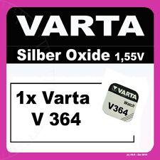 1x V364 Uhren-Batterie Knopfzelle SR60 SR621 AG1 VARTA Neu