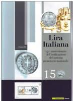 Italia Repubblica Folder Lira Italiana in argento 2012