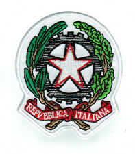 Toppe Toppa PATCH stemma blasone Bandiera   italia italiana  ricamata
