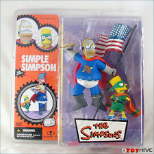 Simpsons McFarlane Simple Simpson Pie Man and Cupcake Kid figures sealed package