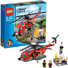 2013 LEGO CITY FIRE HELICOPTER 60010 *NIB, RETIRED, ON HAND, GREAT GIFT