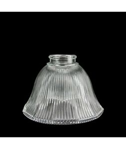 Prismatic Bell Light Shade Holophane Styl: replacement lamp shade