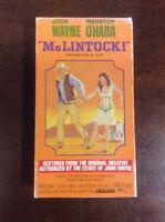 McLintock (VHS, 1993) John Wayne Maureen O'Hara