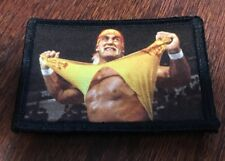 Hulk Hogan Wrestling Morale Patch Tactical Military Army USA