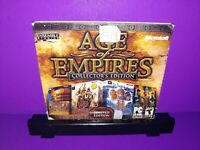 Age of Empires Collector's Edition Limited Edition 3-Disc PC CD ROM B458