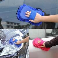Microfiber Chenille Car Sponge Vehicle Care Wash Brush Sponge Pad Cleaning Tools