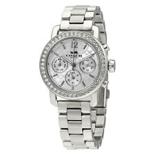 Coach Silver Ladies Analog Business Legacy 14502369