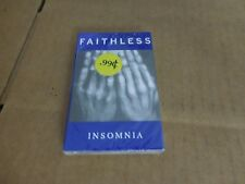 FAITHLESS INSOMNIA FACTORY SEALED CASSETTE SINGLE
