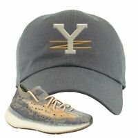 Yeezy Boost 380 Mist Dad Hat | Dark Gray, YZ